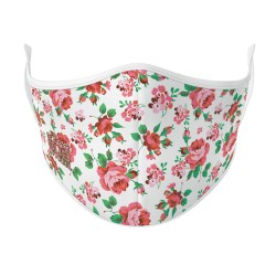 Boutique Rose Floral Face Mask