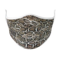 Boutique Snake Skin Face Mask