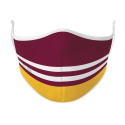 Maroon & Gold Mask