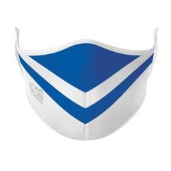 White & Blue Mask