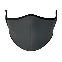 Face Mask - Grey (Black Elastic)
