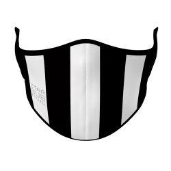 Face Mask - Black & White Aussie Rules