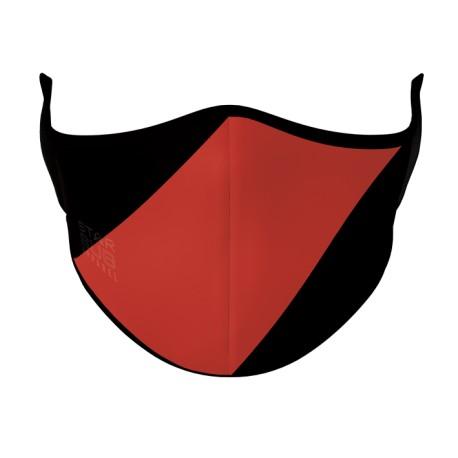 Red & Black Face Mask