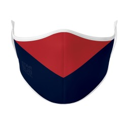 Face Mask - Red & Navy Aussie Rules