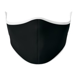 Black Generic Face Mask (White Elastic)