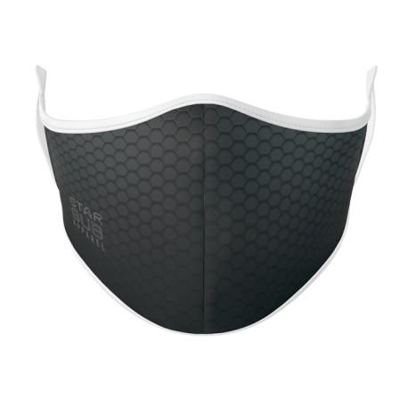 Boutique Black Honeycomb Face Mask