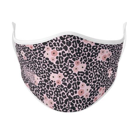 Boutique Floral Leopard Face Mask