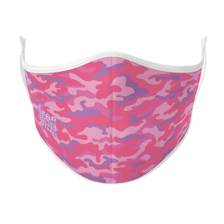 Boutique Pink Camouflage Face Mask